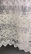 Тюль фатин кремовая YON-57, фото 2