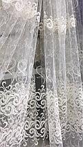 Тюль фатин кремовая YON-57, фото 3