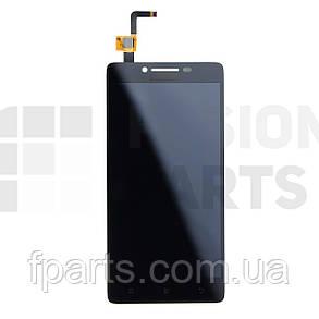 Дисплей Lenovo A6000, K3 (K30-T), K3 (K30-W) тачскрином (Black), фото 2