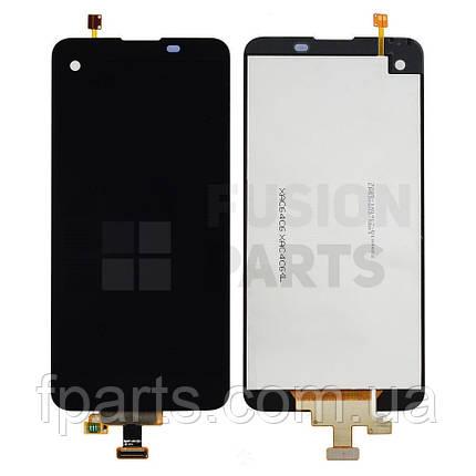 Дисплей LG K500DS, K500N X View (X Screen) с тачскрином (Black) Original, фото 2