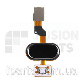 Шлейф Meizu M3S mini, U10 с кнопкой HOME (Black) Original