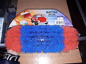Щетка для мытья машины Fanatik 111, щетка для мойки автомобиля ШВАБРА 7 рядов