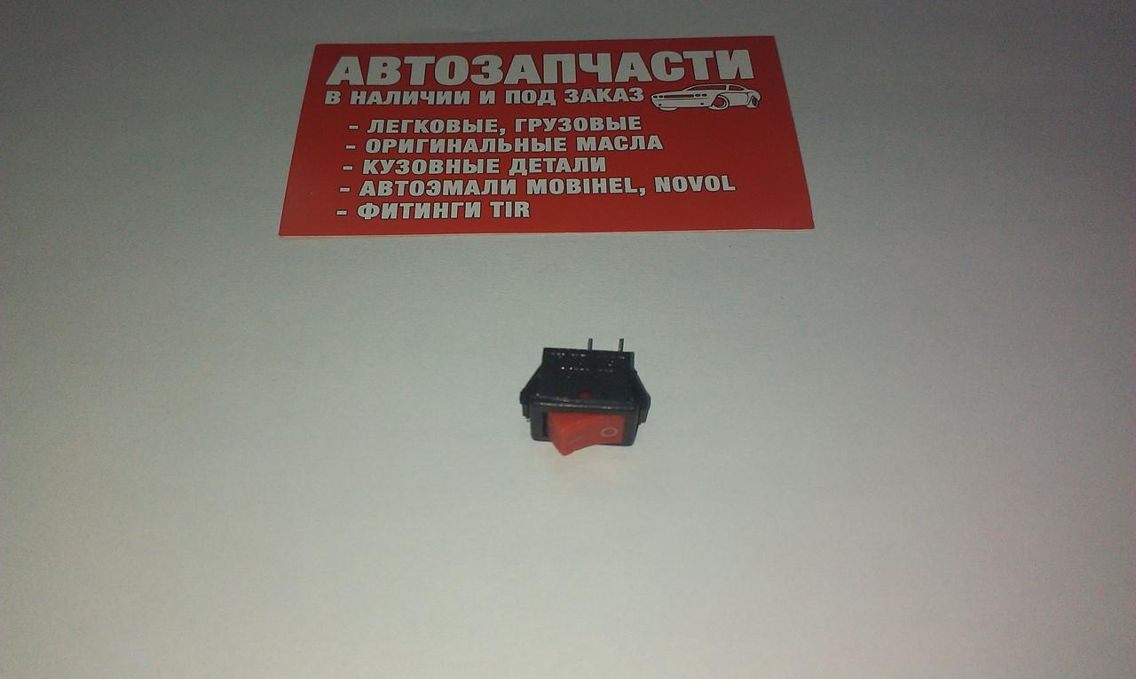 Включатель кнопочный К-001 малый на 2 положение (цвета в ассортименте)