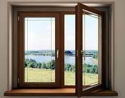 Металлопластиковое окно WDS-400, WDS-505 с наружной ламинацией. Окна Киев цена