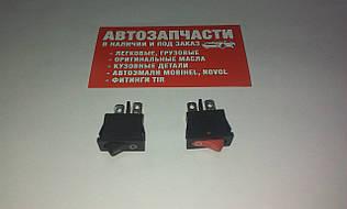 Включатель кнопочный К-005 малый на 2 положение (цвета в ассортименте)