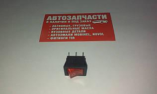Включатель кнопочный КС-002 малый на 2 положение (цвета в ассортименте)