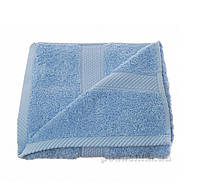 Полотенце Arya Однотонное Miranda голубое 30х50 см