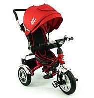 Велосипед детский трехколесный, Бест Трайк 5388, Best Trike надувные колеса красный