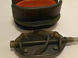 Карповая кормушка Метод Arc Flat  40 грамм + пластиковая пресовалка с кнопкой., фото 4