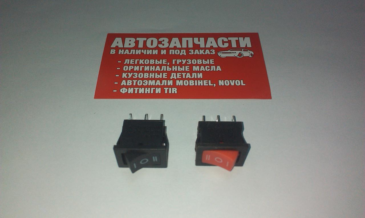 Выключатель кнопочный малый 3 положения (К-009)