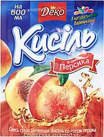 Кисель со вкусом персика 65 г Деко (4820076014123)