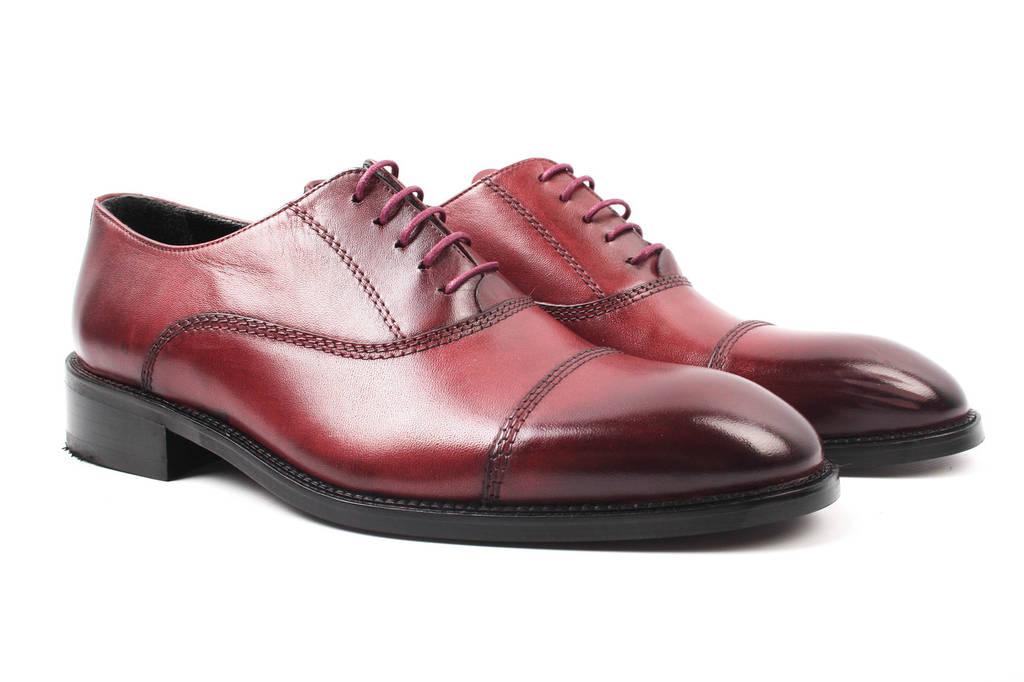 Туфли мужские Ridge натуральная кожа, цвет бордо (мокасины, каблук, весна\осень, Турция)