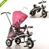 Велосипед детский трехколесный Трансформер - БЕГОВЕЛ Turbo Trike 3212 Турбо трайк 3212 надувные колеса