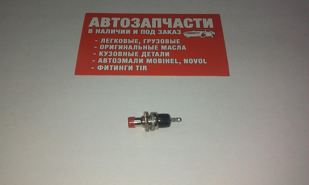 Выключатель кнопочный малый без фиксации (КН-001)