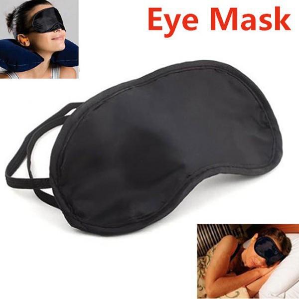 Подарок для Путешествий. маска на глаза, для сна. черный цвет