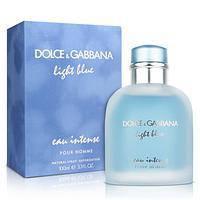 Мужская туалетная вода Dolce & Gabbana Light Blue Eau Intense Pour Homme 125 мл