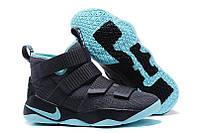 Кроссовки Nike Lebron Soldier 11 Grey, фото 1