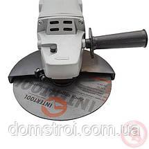 Шлифмашина угловая 1650 Вт, 8000 об/мин, диаметр круга 180 мм, фиксатор INTERTOOL, фото 2