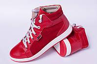 Ботинки кожаные подростковые, детская обувь кожаная от производителя модель ДЖ7001