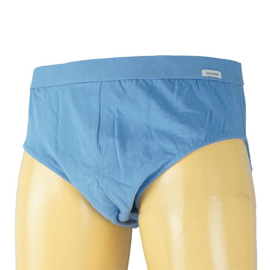 Блакитні чоловічі плавки Cornette 080 у великому розмірі