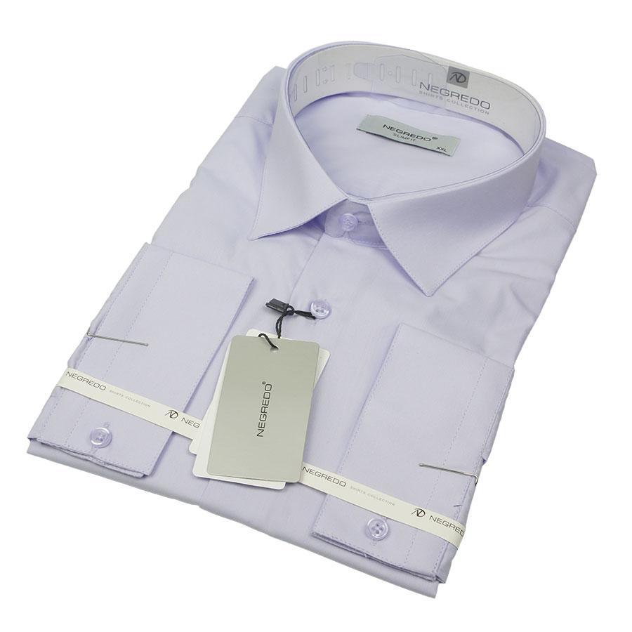 Однотонна класична чоловіча сорочка Negredo 31000 Сlassic