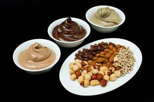 Горіхові та шоколадні пасти