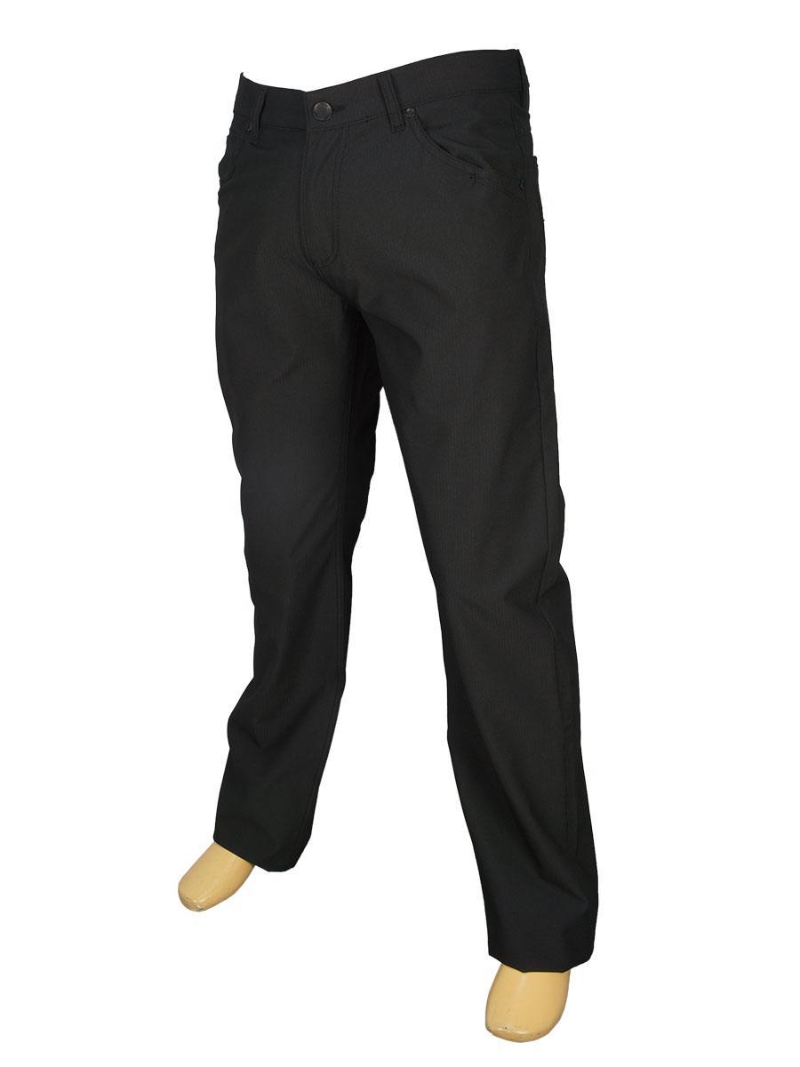 Чорні класичні чоловічі джинси Cen-cor MD-1048-S
