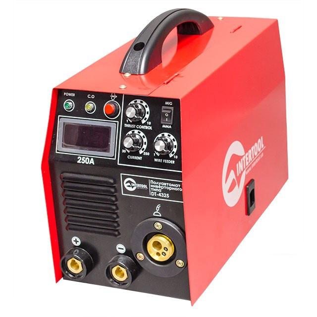 Зварювальний напівавтомат 230 В, 7.1кВт, 30-250 А діаметр дроту 0.6-1.2 мм