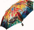 Женский, красочный полуавтоматический зонт. ZEST (ЗЕСТ) Z53624-2  Антиветер!, фото 2