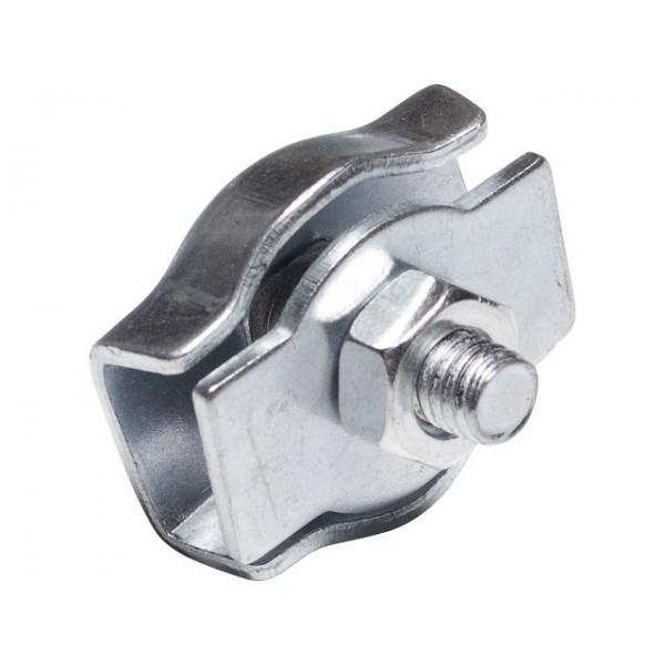 Зажим для троса 8 мм одинарный оцинкованный Simplex