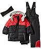 Зимний раздельный черно-красный комбинезон iXtreme(США) для мальчика 12мес