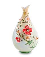"Фарфоровая ваза ""Маки"" (Pavone) FM- 11"