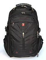Рюкзак для ноутбука SWISS GEAR на диагональ 15,6-17 дюймов черный