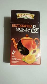 """Чай """"Big-Active"""" черный с фруктами 80 гр"""