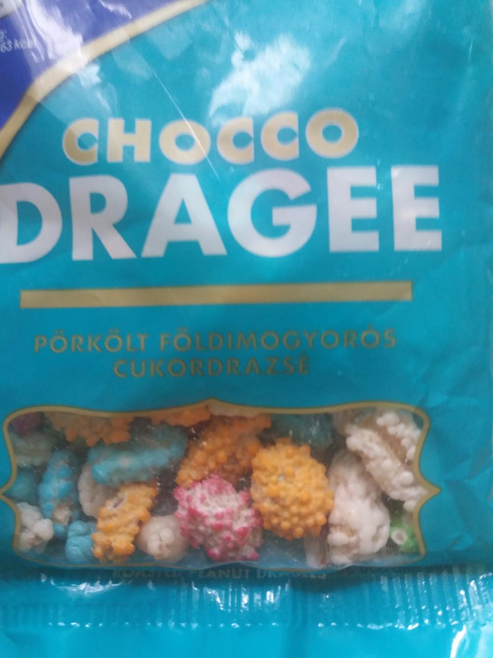 Chocco Garden-dragee жареный арахис (100г)Венгрия