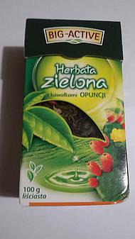"""Чай """"Big-Active"""" зеленый с кактусом 100 гр"""