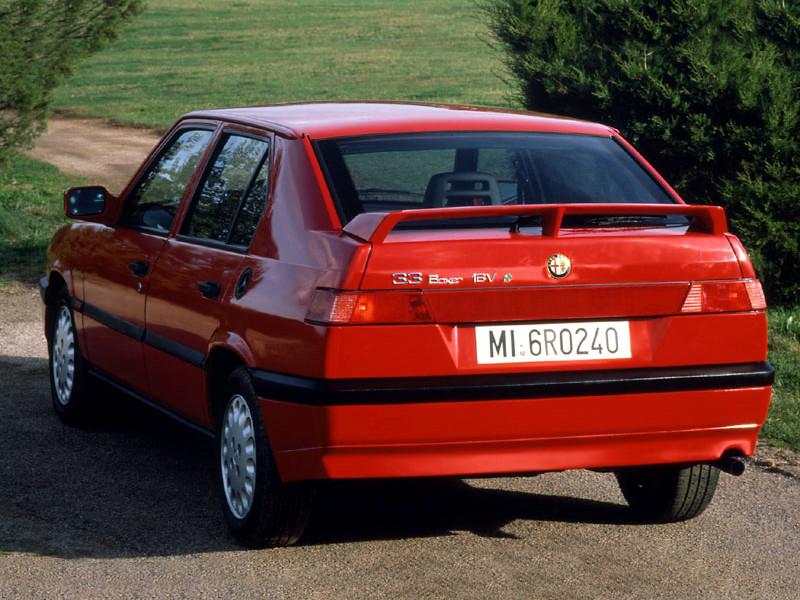 Заднее стекло (ляда) на Alfa Romeo 33 II (1990-1995), комби