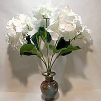Искусственные цветы Букет Гортензий (5 шт)