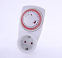 Таймер питания в розетку механический Lemanso (LM670) (99410)