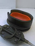 Коропова годівниця Метод Flat Arc 80 грам+пластикова пресовалка з кнопкою., фото 4