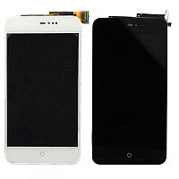 Дисплейний модуль для телефону Meizu  MX4 в зборі з тачскріном білий