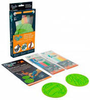 Набор аксессуаров для 3D-ручки 3Doodler Start Дикие животные (48 стержней, 2 шаблона), фото 1