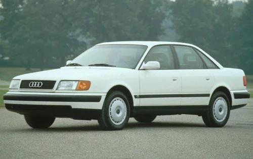 Уплотнитель лобового стекла на Audi 100 (в кузове А6) (1991-1994), седан
