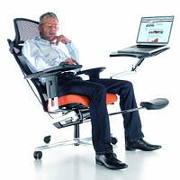 Ортопедическое кресло PROFIm Mposition chrom fabric, фото 1
