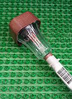 Светильник садово-парковый (газонный) на солнечной батарее WOLTA Sturm коричневый