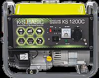 ⭐ Генератор бензиновый (1 кВт)K&S BASIC KS 1200C Könner&Söhnen (обмотка МЕДЬ)