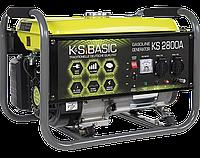 Генератор бензиновый (2,8 кВт) K&S BASIC KS 2800A Könner&Söhnen (обмотка АЛЮМИНИЙ)