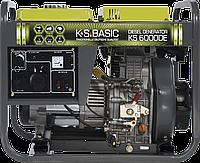 Генератор дизельний  (5,5 кВт) K&S BASIC KS 6000 DE