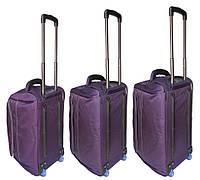 Комплект женских дорожных сумок на колесах Catesigo 3 шт