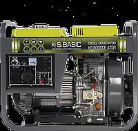 Генератор дизельний  (6,5 кВт) K&S BASIC KS 8000 DE ATSR